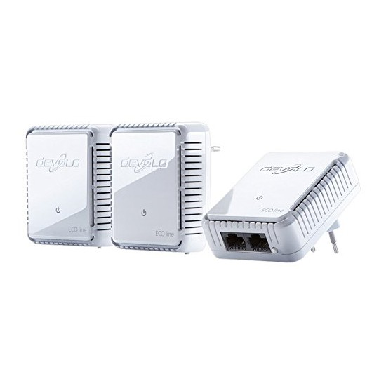 Kit PLC 500Mbit/s Ethernet Devolo dLAN 500 Duo Network 3piezas