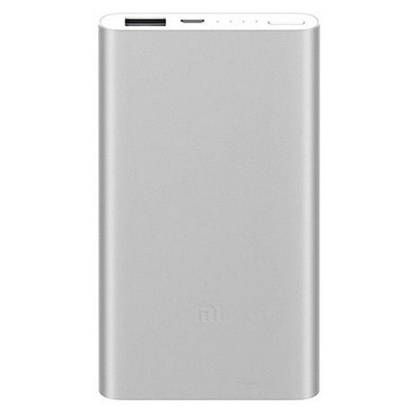 Bateria Portable PowerBank Xiaomi Mi Power Bank 2 Plata 5.000 mAh