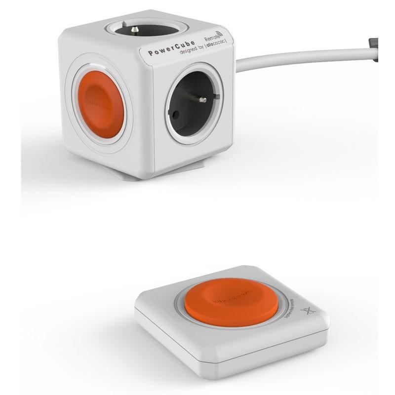 regleta-powercube-remote-set-naranja