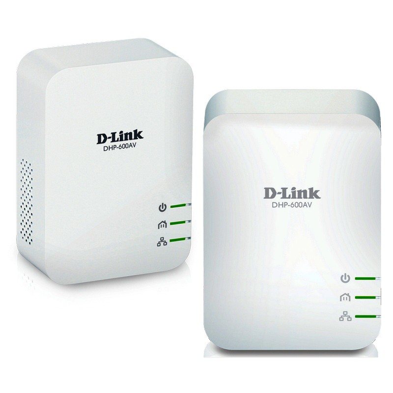 Kit Powerline D-Link DHP-601AV AV2 1000 HD