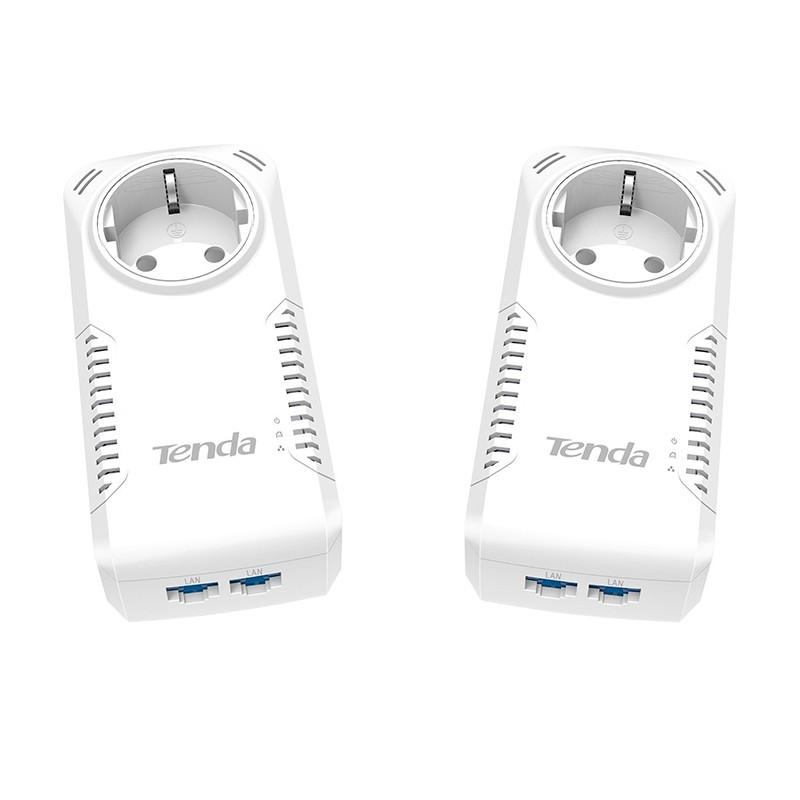 Kit PowerLine 1000Mbps Tenda P1002PKIT (2 unidades)