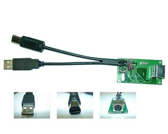 Adaptador de teclado para PS2/GC