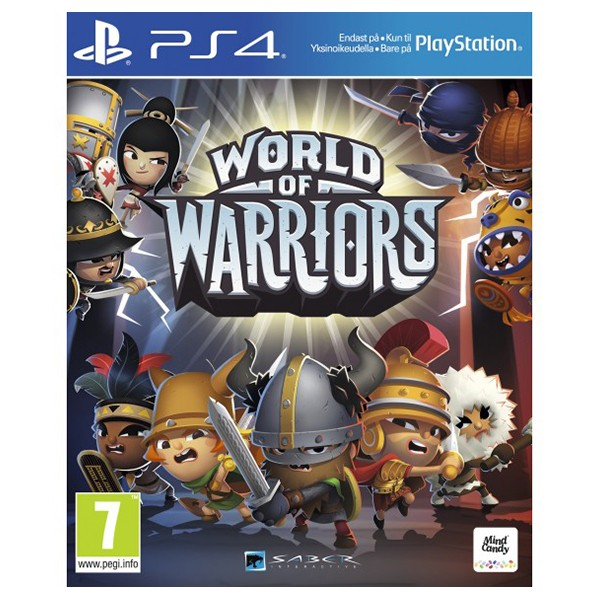Ps4 juego world of warriors