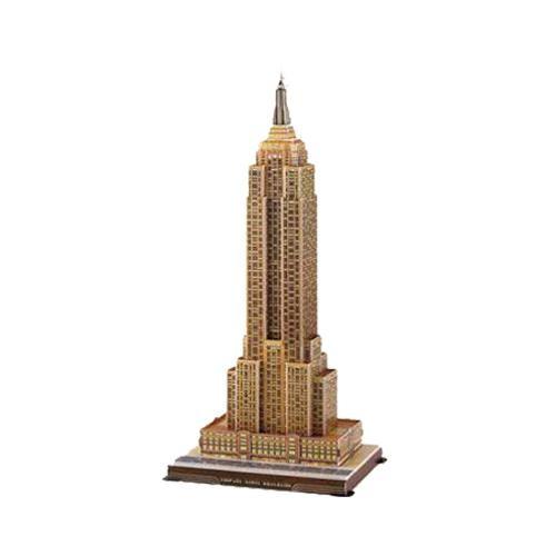 Puzzle Kit 3D Edificio Empire State (39 piezas)