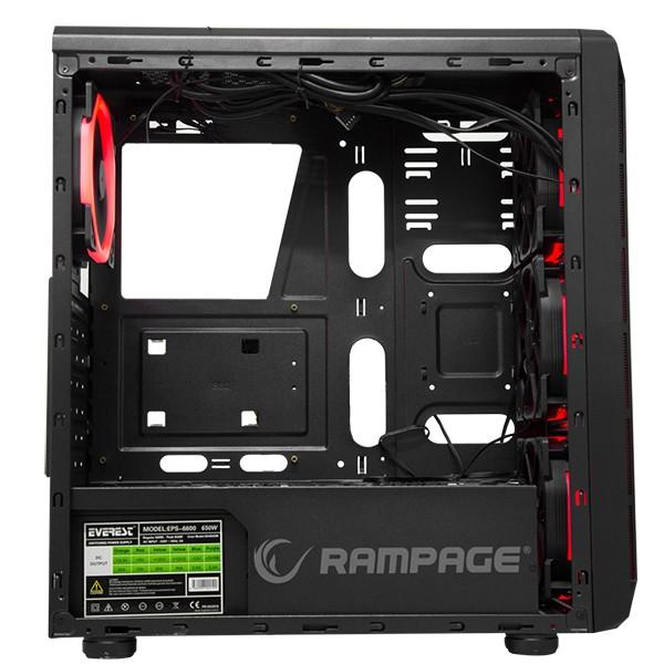 Caja PC ATX Rampage SHADOW HD Audio 600W