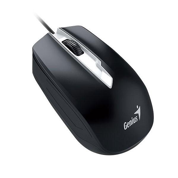 Ratón Óptico USB Genius DX-180 1600DPI Negro