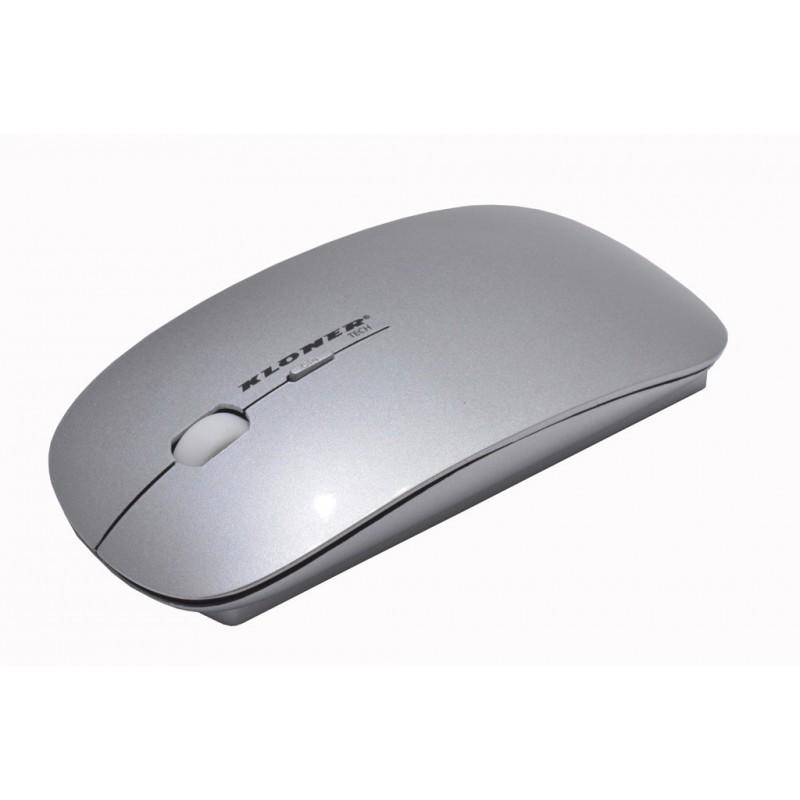 raton-inalambrico-kloner-slim-plata-krw200