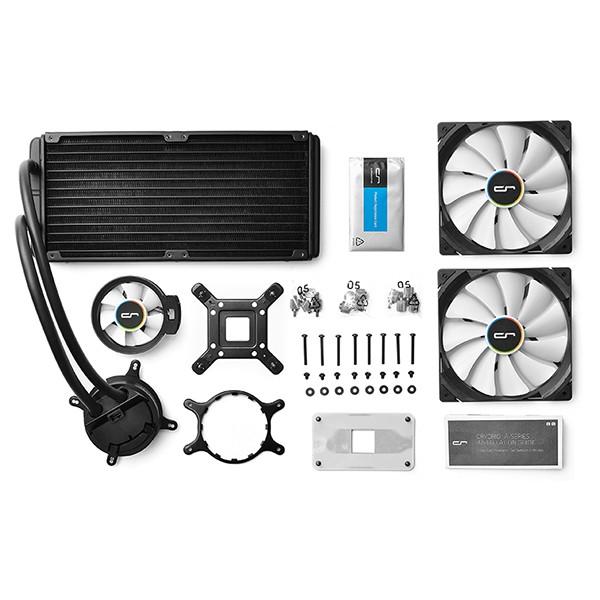 Kit Refrigeración Líquida CPU Cryorig A80 140mm