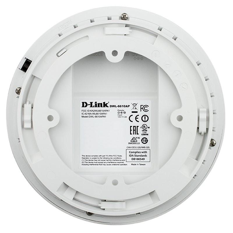 Punto Acceso AC1200 PoE Doble-Banda D-Link DWL-6610AP