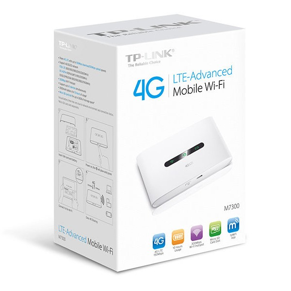 Router 4G LTE-Advanced Mobile Tp-Link M7300 V3