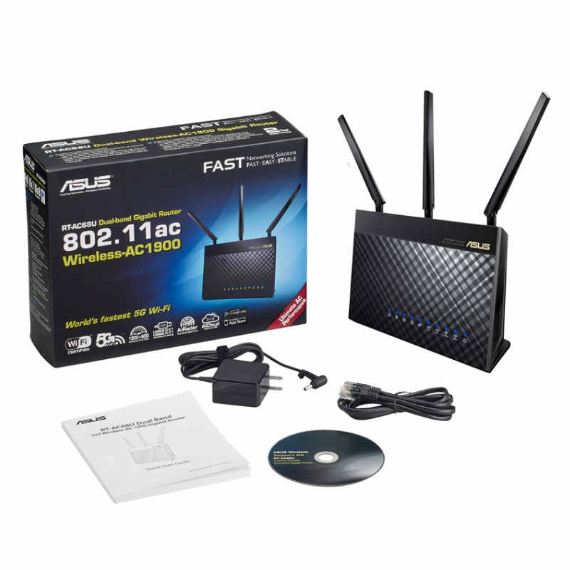 Router Inalámbrico Dual-Band Asus RT-AC68U