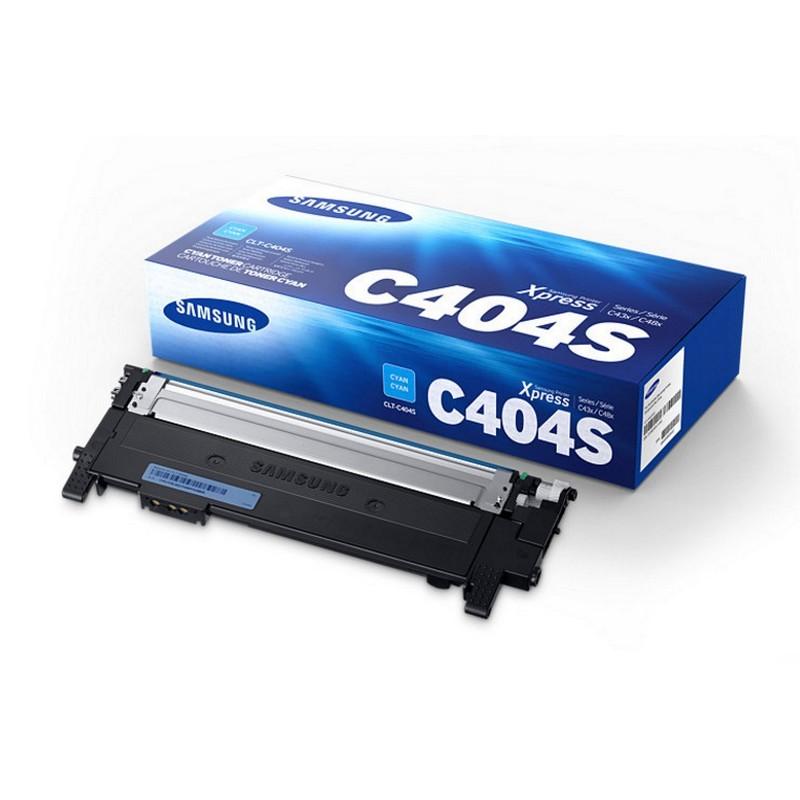 Samsung CLT-C404S Toner Cian Original