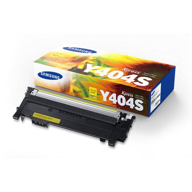 Samsung CLT-Y404S Toner Amarillo Original