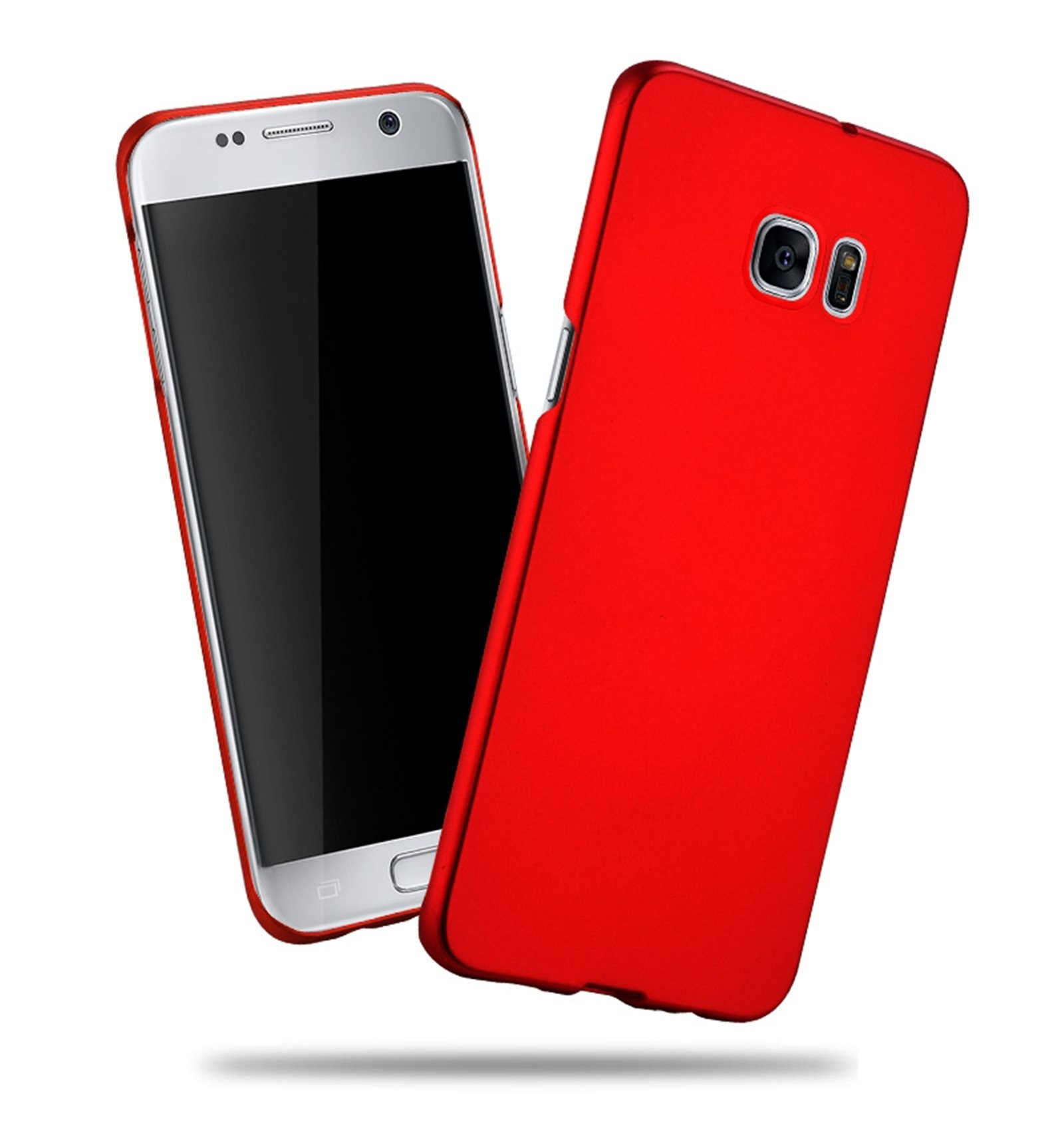 Samsung Galaxy S8 Funda Silicona Rojo