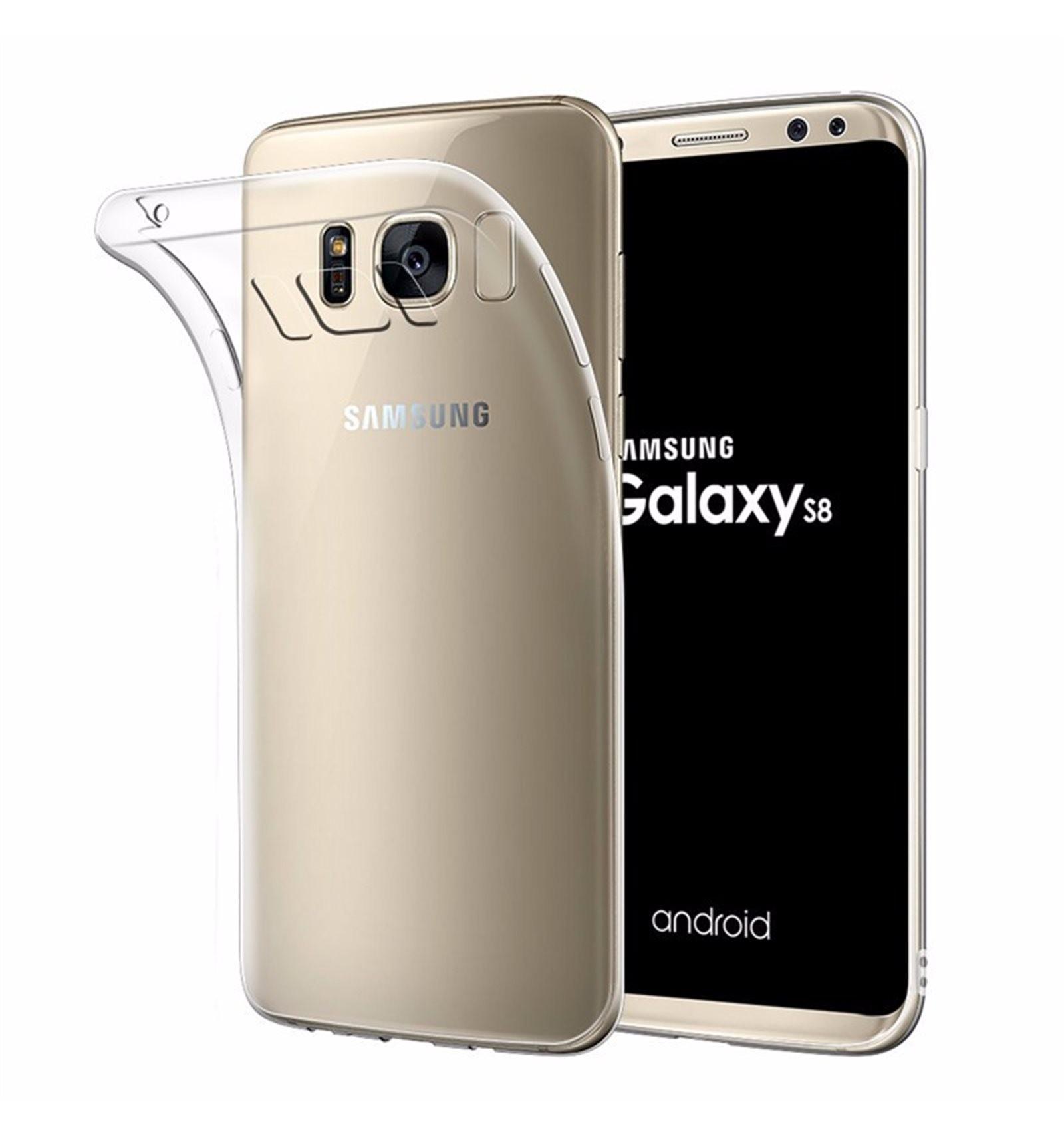 Samsung Galaxy S8 Funda Silicona Transparente