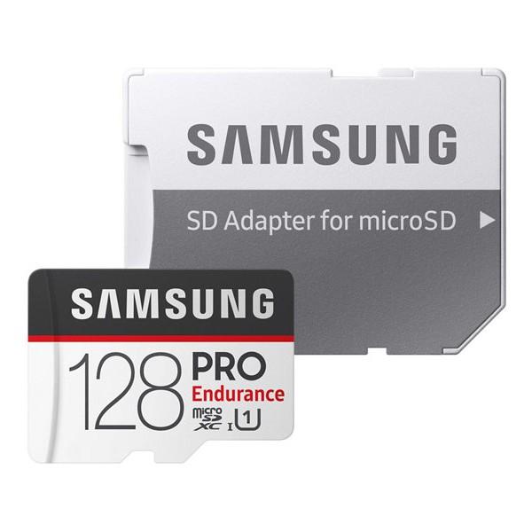 Tarjeta MicroSDXC 128GB UHS-I Samsung PRO Endurance c/adapt