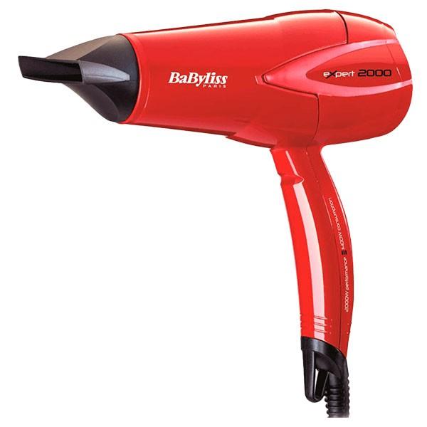 Secador de Pelo BaByliss D302RE Expert 2000W Rojo