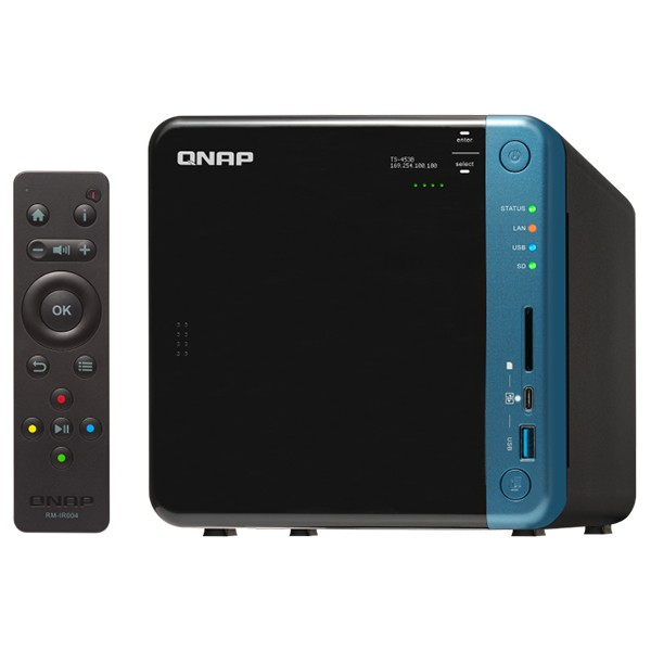 Servidor NAS QNAP TS-453B-4G Celeron J3455 4GB 4 Bahías