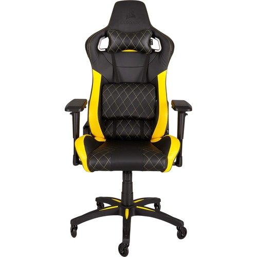 silla-gaming-corsair-t1-race-negra-amarilla