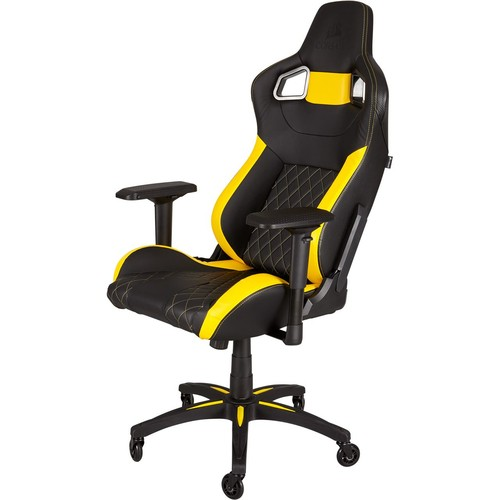 Silla Gaming Corsair T1 Race Negra/Amarilla