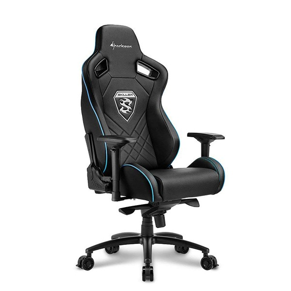 Silla Gamer Sharkoon SKILLER SGS4 Negra / Azul