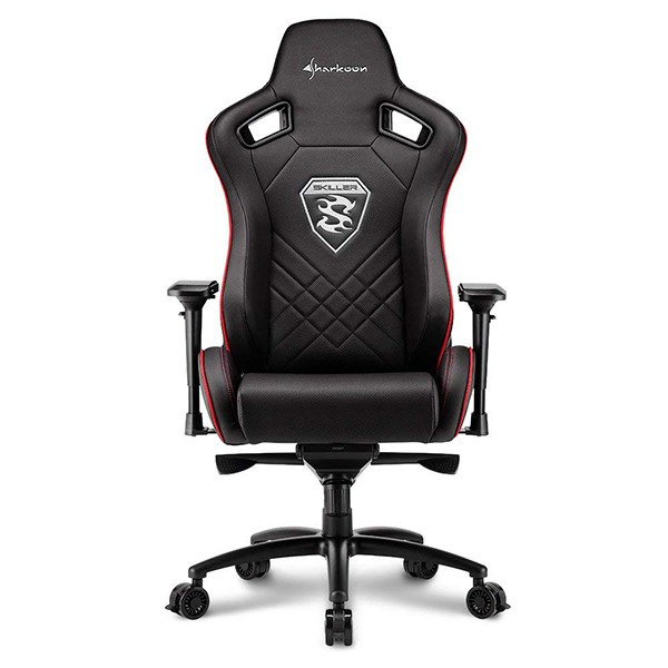 Silla Gamer Sharkoon SKILLER SGS4 Negra / Roja