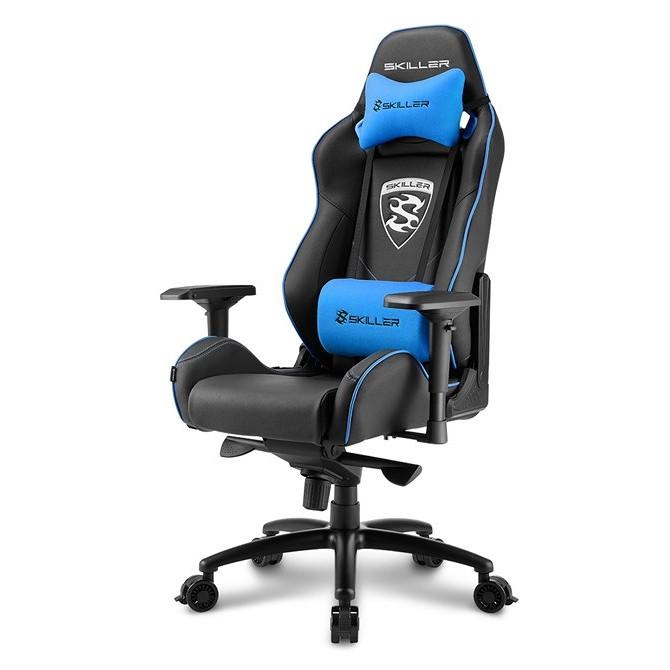 Silla Gamer Sharkoon Skiller SGS3 Gaming Seat Acolchada Azul