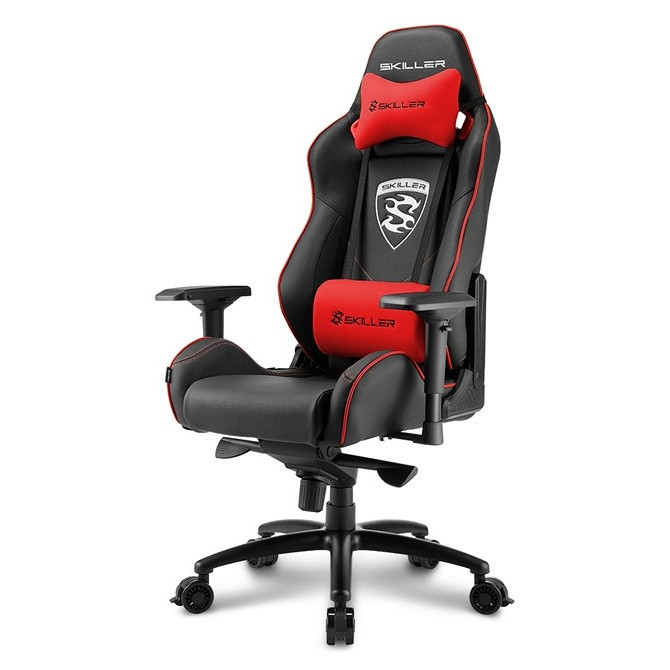 Silla Gamer Sharkoon Skiller SGS3 Gaming Seat Acolchada Roja