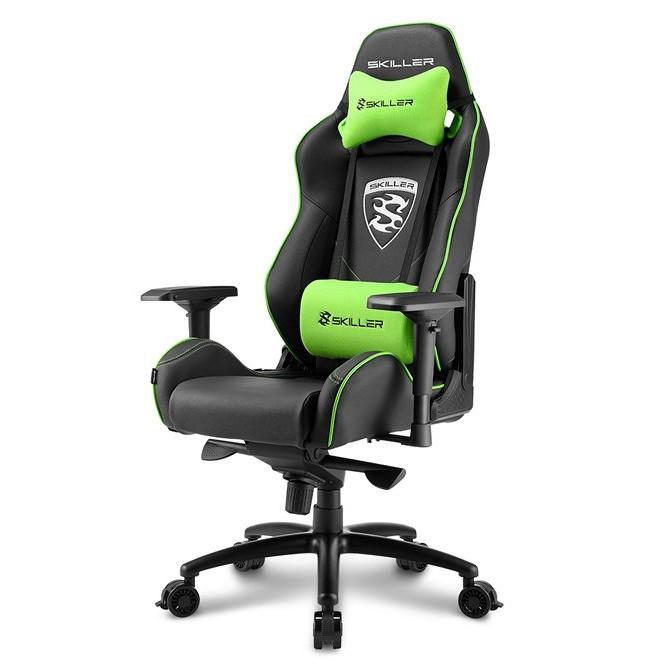 Silla Gamer Sharkoon Skiller SGS3 Gaming Seat Acolchada Verde