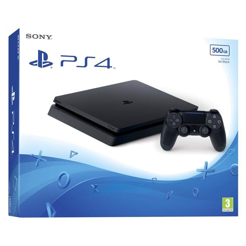 Sony PlayStation 4 Slim 500GB Negra
