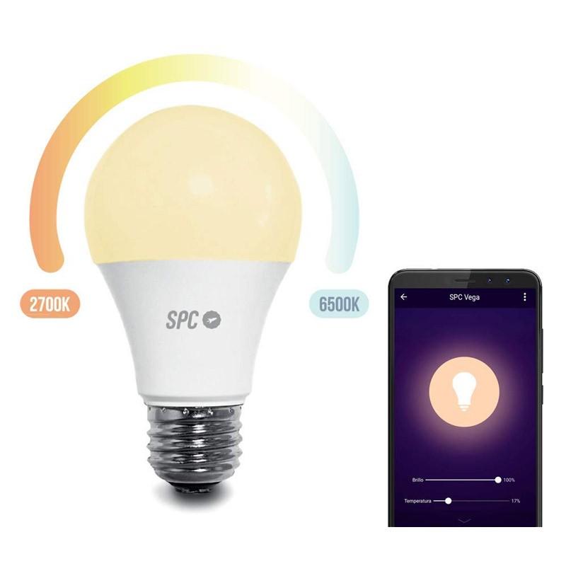 Bombilla LED Inteligente SPC Vega 1050 E27 - SPC IoT