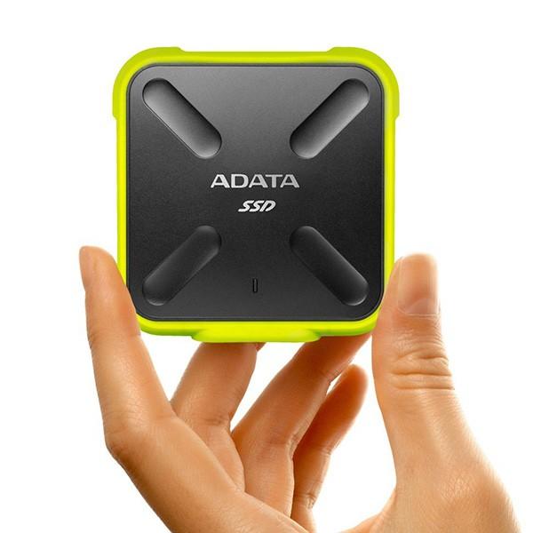 SSD Externo 256GB Adata SD700 USB 3.1 Amarillo