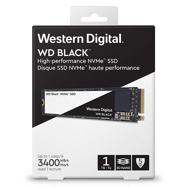 SSD M.2 PCIe Gen3 x4 NVMe 1TB Western Digital WD Black