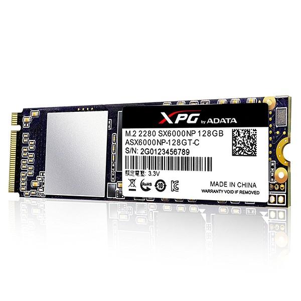 SSD M.2 2280 PCIe Gen3x2 128GB Adata XPG SX6000