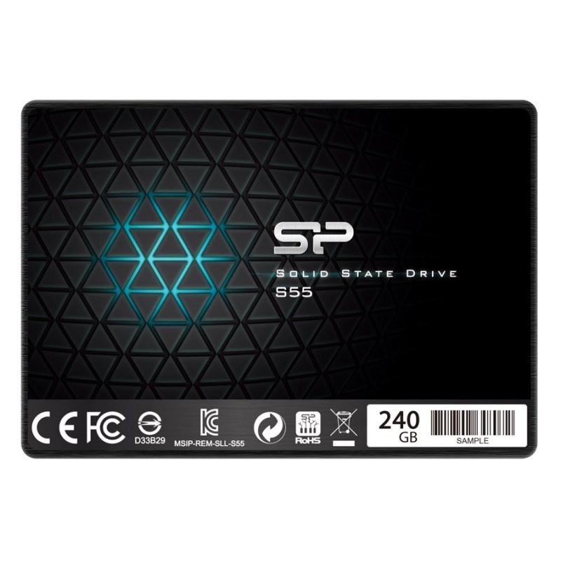 SSD 240GB Silicon Power Slim S55 7mm Sata3
