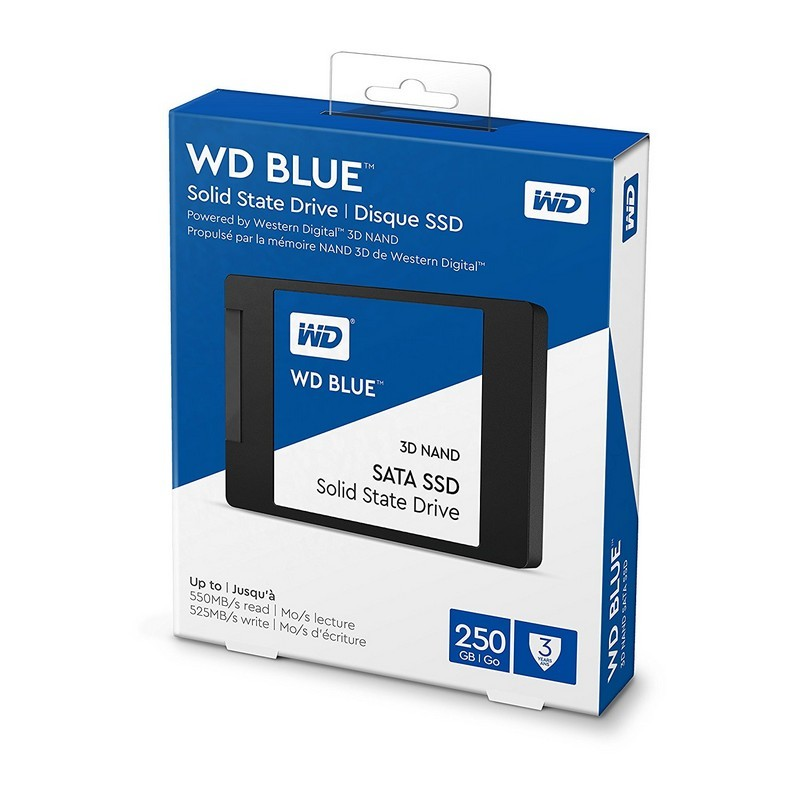 SSD 250GB Western Digital WD Blue 3D NAND Sata 6Gbps