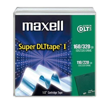 S-DLT 1 110/220, 160/320GB Maxell