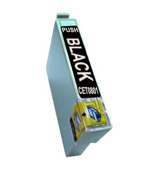 T0801 Cartucho de Tinta Compatible Premium (Negro)