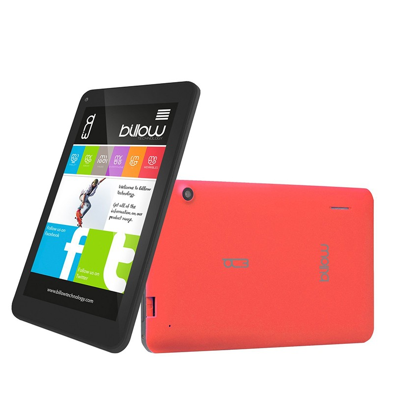 Tablet 7'' Billow X704 8GB 4G Roja