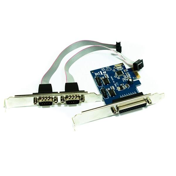 Tarjeta PCI-E 2 Paralelos + 1 Serie Approx APPC37