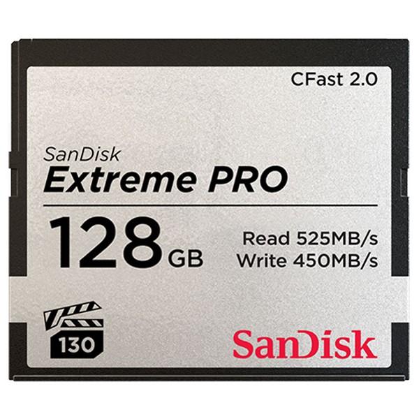 Tarjeta CFast 2.0 128GB SanDisk Extreme PRO VPG1