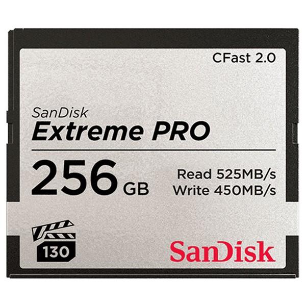 Tarjeta CFast 2.0 256GB SanDisk Extreme PRO VPG1
