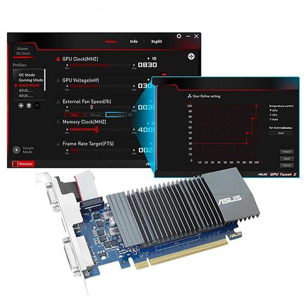 Tarjeta Gráfica Asus Geforce GT 710 SL-1GD5 1GB GDDR5