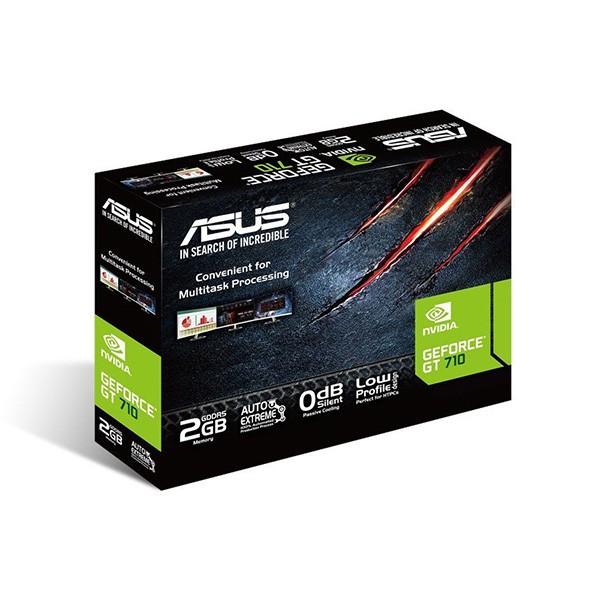 Tarjeta Gráfica Asus Geforce GT 710 SL-2GD5 2GB GDDR5