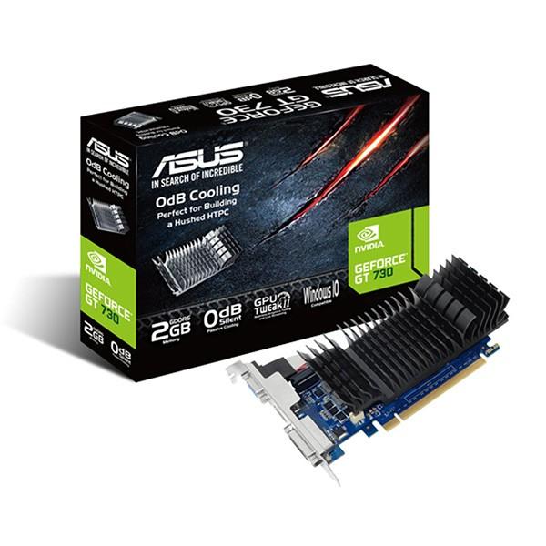 Tarjeta Gráfica Asus Geforce GT 730 SL 2GD5-BRK 2GB GDDR3