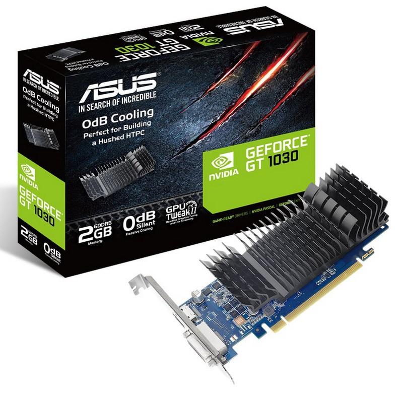 Tarjeta Gráfica Asus GeForce GT 1030 2GB GDDR5 Perfil Bajo