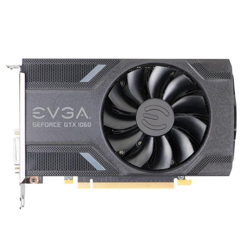 Tarjeta Gráfica EVGA GeForce GTX 1060 ACX2.0 (Single Fan) 6GB GDDR5
