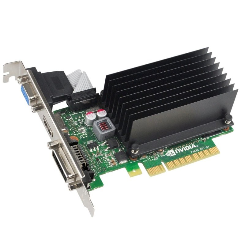 Tarjeta Gráfica EVGA GeForce GT 730 2GB DDR3 Pasiva