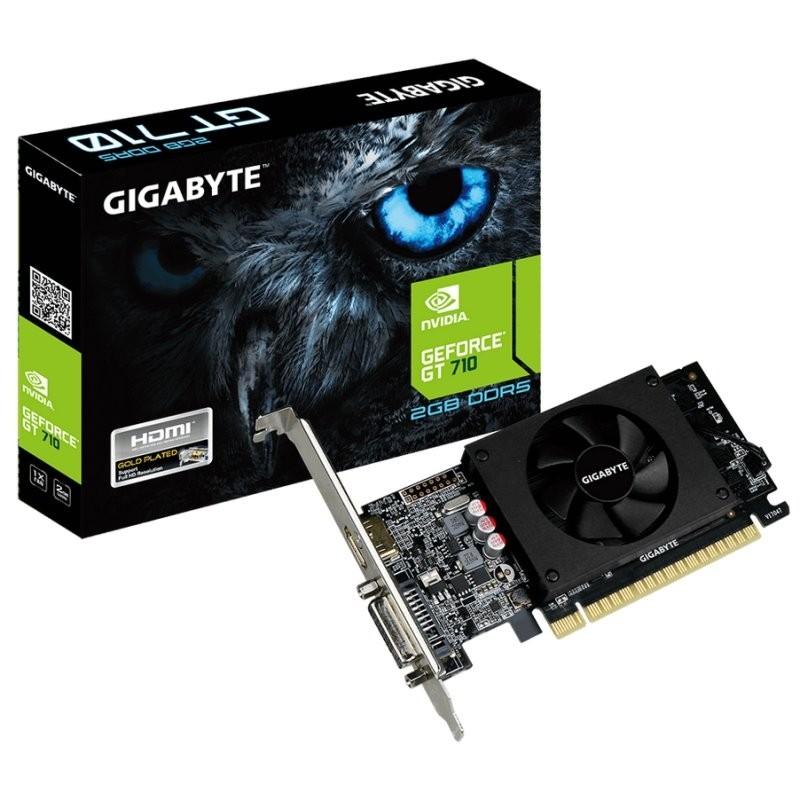 Tarjeta Gráfica Gigabyte GeForce GT 710 2GB GDDR5