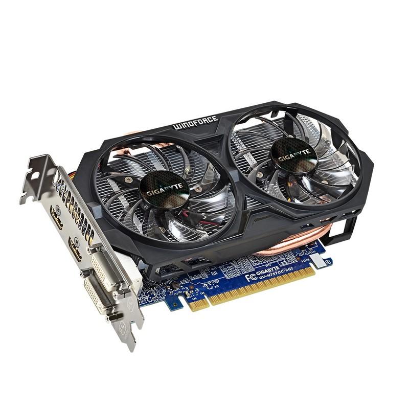Tarjeta Gráfica Gigabyte GeForce GTX 750 Ti 2GB DDR5